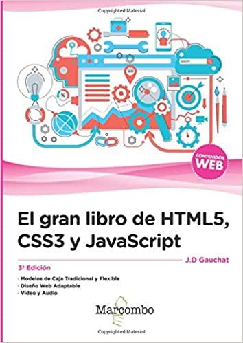 El gran libro de HTML, CSS y Javascript